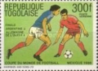 [Airmail - Final Tournament Games of Football World Cup in Mexico 1986, type BIV]