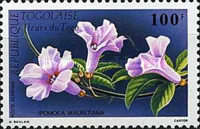 [Airmail - Flowers, type BKG]