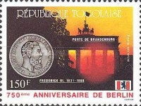 [Airmail - The 750th Anniversary of Berlin, type BKM]