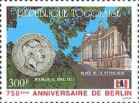 [Airmail - The 750th Anniversary of Berlin, type BKN]