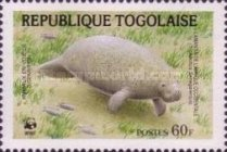 [Worldwide Nature Protection - African Manatee, type BLB]