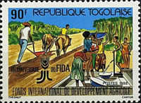 [The 10th Anniversary of Agricultural Development Fund, type BLI]