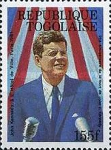 [The 25th Anniversary of the Death of John F. Kennedy, 1917-1963, type BMK]