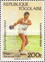 [Airmail - Olympic Games - Seoul, South Korea, type BMR]