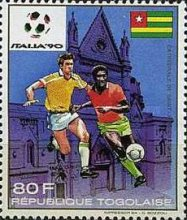 [Football World Cup - Italy 1990, type BNM]