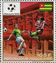 [Football World Cup - Italy 1990, type BNO]