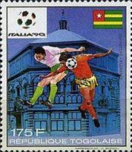 [Football World Cup - Italy 1990, type BNP]