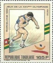 [Olympic Games - Barcelona 1992, Spain, type BNV]