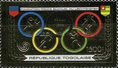 [Airmail - Prince Emmanuel of Liechtenstein Foundation and Olympic Games - Seoul 1988, South Korea, type BOE]