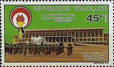 [The 20th Anniversary of Rally of Togolese People Party, type BPG]