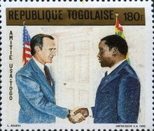 [Friendship between USA and Togo, type BQH]