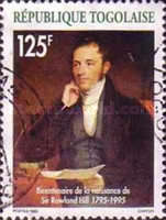 [The 200th Anniversary of the Birth of Rowland Hill, 1795-1879, type BTR]
