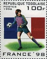 [Football World Cup - France (1998), Typ BYJ]