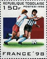 [Football World Cup - France (1998), Typ BYK]