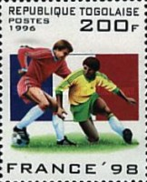 [Football World Cup - France (1998), Typ BYL]
