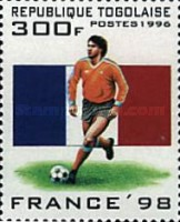 [Football World Cup - France (1998), Typ BYM]