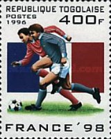 [Football World Cup - France (1998), Typ BYN]