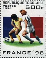 [Football World Cup - France (1998), Typ BYO]