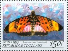 [Butterflies from around the World, Typ CQK]