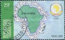 [Organization of African Unity or OAU - Peace in Africa, type CUZ2]