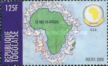 [Organization of African Unity or OAU - Peace in Africa, type CUZ4]