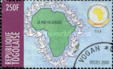 [Organization of African Unity or OAU - Peace in Africa, type CUZ5]
