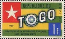 [Admission of Togo into the United Nations, type CX2]
