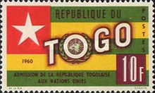 [Admission of Togo into the United Nations, type CX3]