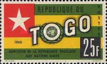 [Admission of Togo into the United Nations, type CX4]