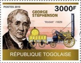 [Tribute to George Stephenson, 1781-1848, type DNF]