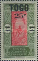 [Issue of 1921 Surcharged, type F1]