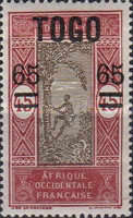 [Issue of 1921 Surcharged, type F3]