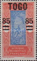 [Issue of 1921 Surcharged, type F4]