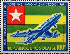 [Inauguration of National Airline