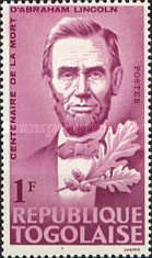[The 100th Anniversary of the Death of Abraham Lincoln, 1809-1885, type HG]