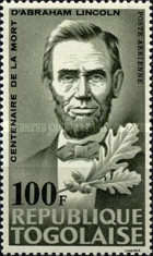[The 100th Anniversary of the Death of Abraham Lincoln, 1809-1885, type HG4]