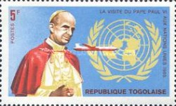 [Visit of Pope Paul VI to the United Nations 1965, Typ IB]