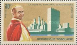 [Visit of Pope Paul VI to the United Nations 1965, Typ ID]