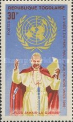 [Visit of Pope Paul VI to the United Nations 1965, Typ IE]