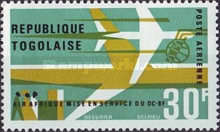 [Airmail - Inauguration of Douglas DC-8F Air Services, Typ IY]