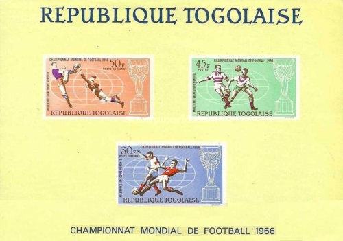 [Airmail - Winning Trophy of the Football World Cup in London, Typ JK2]