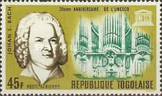 [The 20th Anniversary of UNESCO 1966 - Musicians, type JZ1]