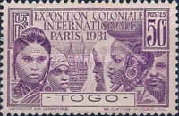 [International Colonial Exhibition, Paris, type K]