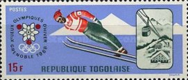 [Summer and Winter Olympic Games - Mexico City, Mexico & Grenoble, France, type LP]