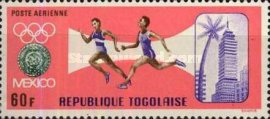 [Airmail - Summer and Winter Olympic Games - Mexico City, Mexico & Grenoble, France, type LQ1]
