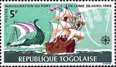 [Inauguration of Lome Port and the 8th Anniversary of Independence, type MB]