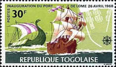 [Inauguration of Lome Port and the 8th Anniversary of Independence, type MB1]