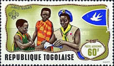 [Airmail - Togolese Scouts, type MX1]