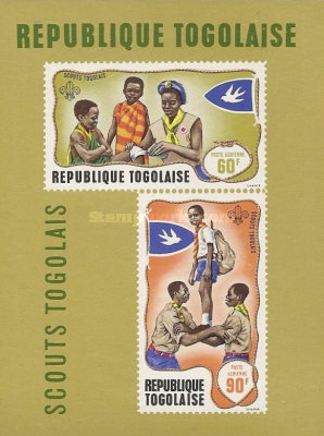 [Airmail - Togolese Scouts, type MY2]