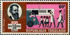 [Airmail - The 50th Anniversary of League of Red Cross Societies, type ON1]